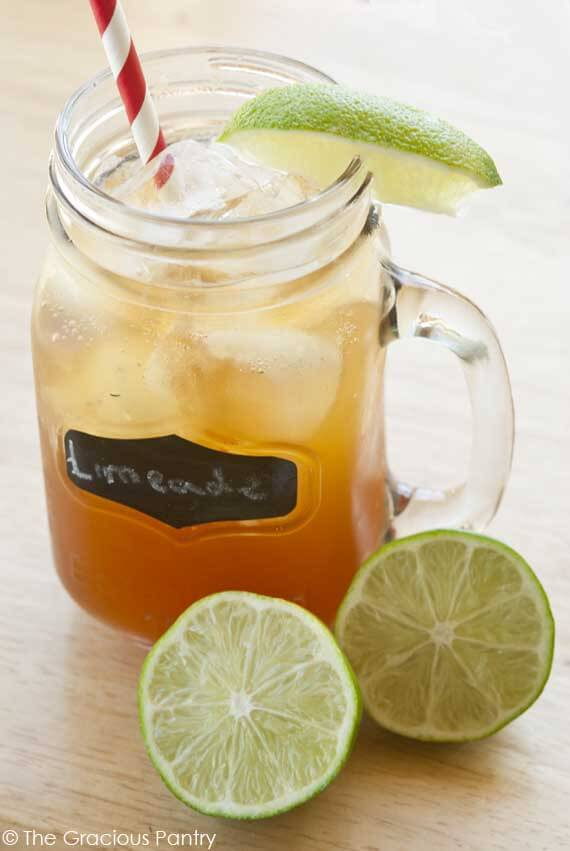 Clean Eating Sparkling Limeade