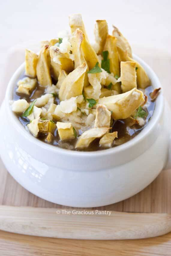 Clean Eating Poutine