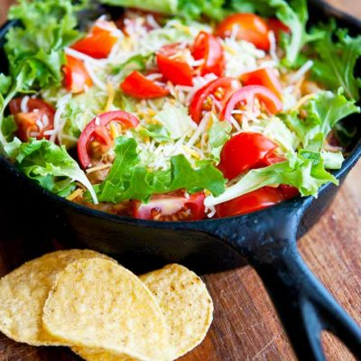 Clean Eating Skillet Taco Salad Recipe
