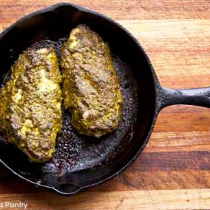 SIMPLE MEALS: Clean Eating Skillet Baked Pesto Chicken Recipe