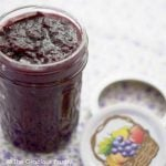Clean Eating Blueberry Apple Butter