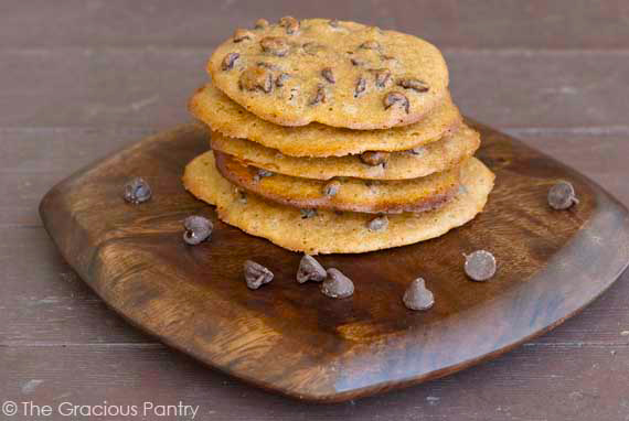 Clean Eating Spelt Chocolate Chip Cookies Recipe