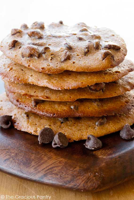 Clean Eating Spelt Chocolate Chip Cookies Recipe