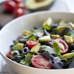 Clean Eating Black Bean Pasta