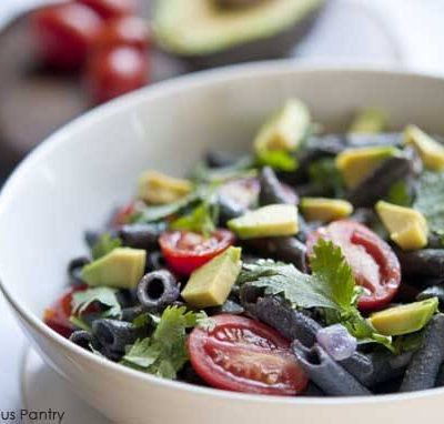 Clean Eating Black Bean Pasta Salad