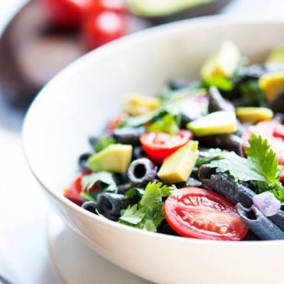 Black Bean Pasta Salad Recipe