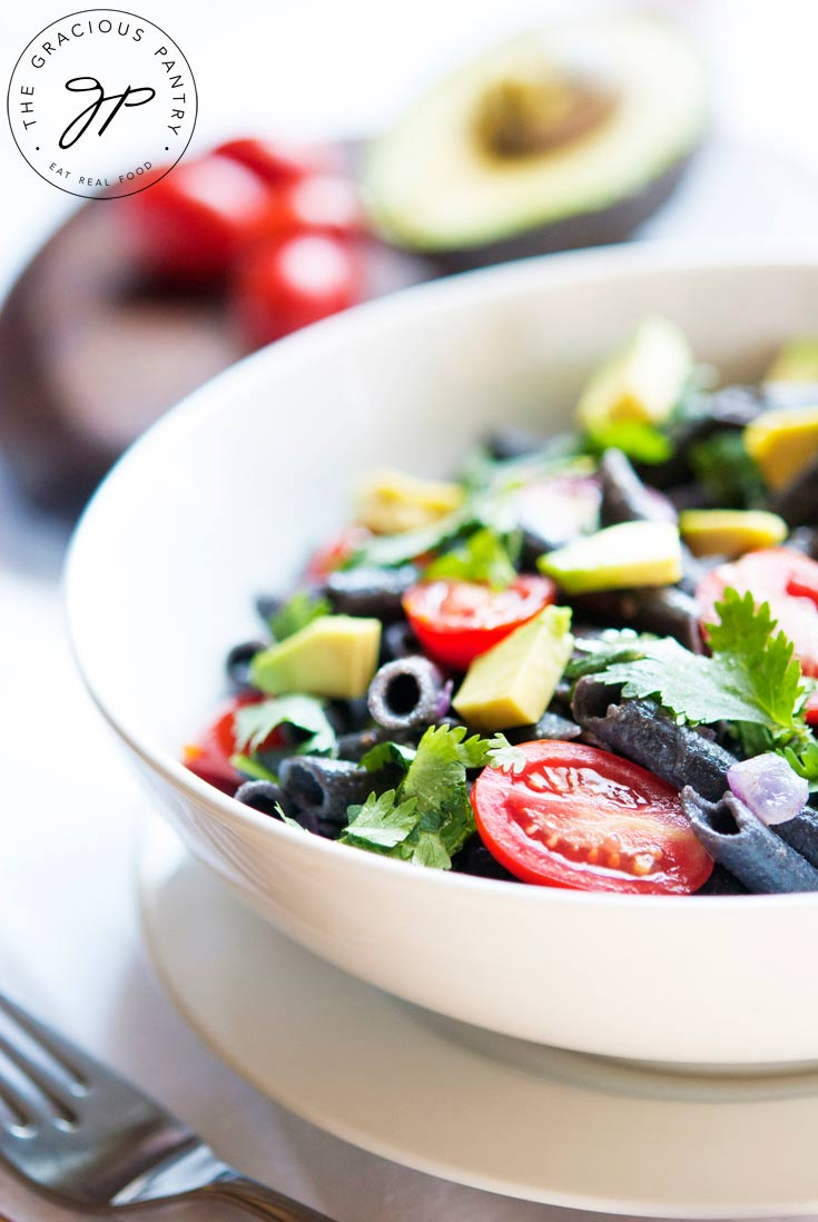 Clean Eating Black Bean Pasta Salad Recipe
