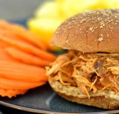 Clean Eating Hawaiian Barbecue Chicken Sandwiches Recipe