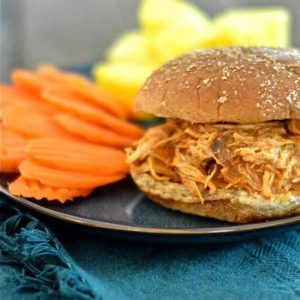 Clean Eating Hawaiian Barbecue Chicken Sandwiches