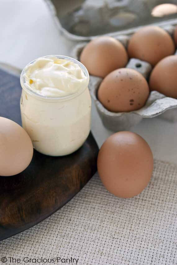 Clean Eating Mayonnaise