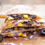 Clean Eating Stuffed Mexican Quesadillas Recipe