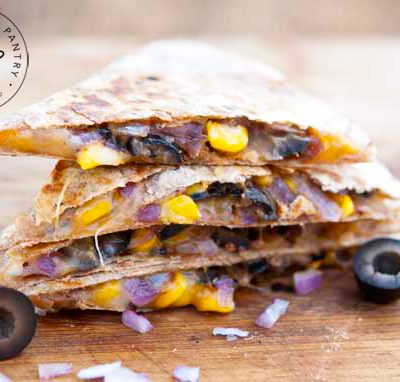 Clean Eating Stuffed Mexican Quesadillas Recipe