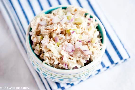 Clean Eating Traditional Tuna Salad