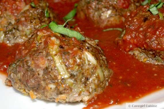 Ultimate Meatballs - When A CaveGirl Eats Clean
