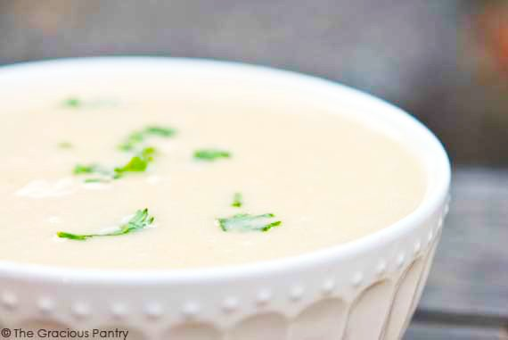 Clean Eating Slow Cooker Cream Of Chicken Soup Recipe