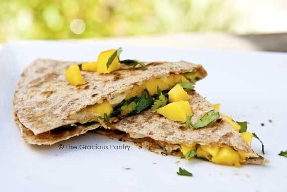 Clean Eating Superfood Quesadillas
