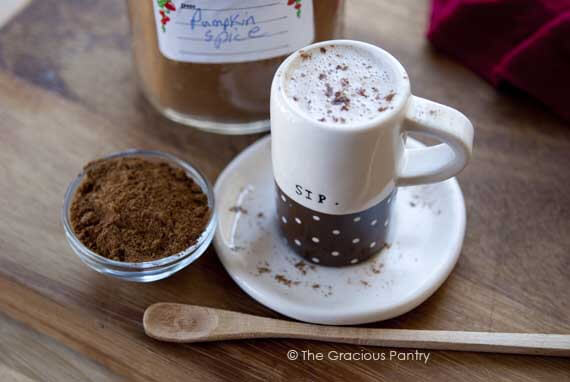 Clean Eating Coconut Pumpkin Spice Steamer Recipe