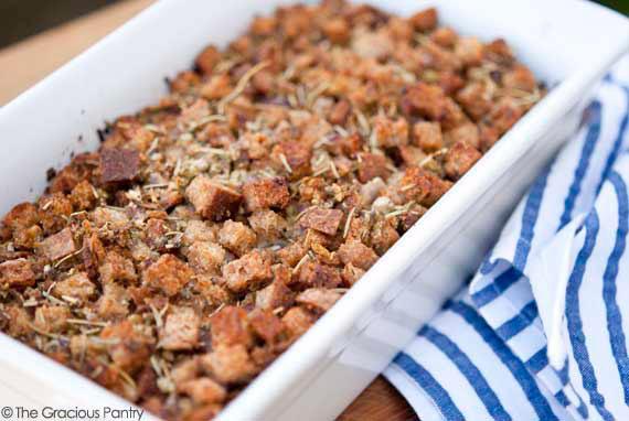 Homemade Stuffing Recipe (Crouton Stuffing)