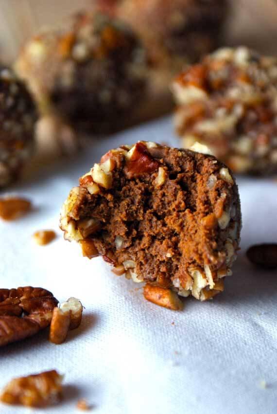 Pumpkin Spice Cake Truffles Recipe