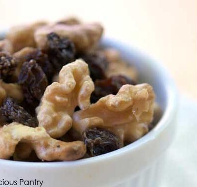 Clean Eating Raisins And Soaked Walnuts