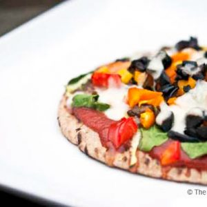 Clean Eating Whole Grain Pita Pizza Recipe