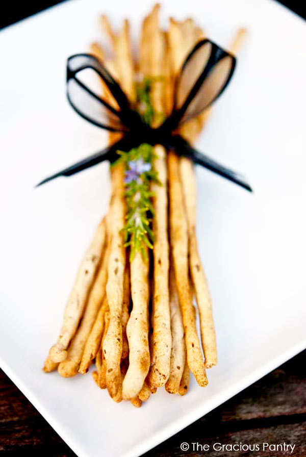Clean Eating Bread Sticks (Grissini) Recipe