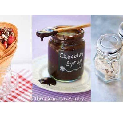 Clean Eating Ice Cream Sundae Gift Set