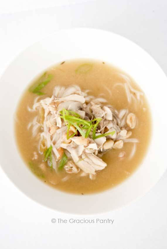 Clean Eating Pad Thai Soup Recipe