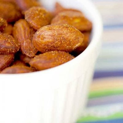 Spicy Roasted Almonds