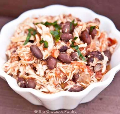 Clean Eating Black Bean Mexican Chicken Recipe