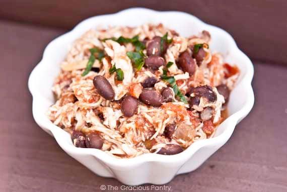 Clean Eating Black Bean Mexican Chicken Recipe