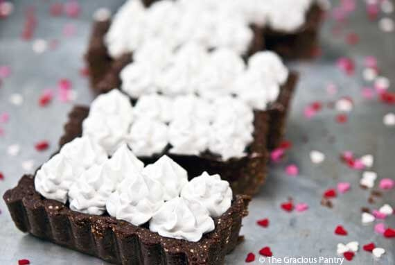 Clean Eating Margarita Chocolate Truffle Tart