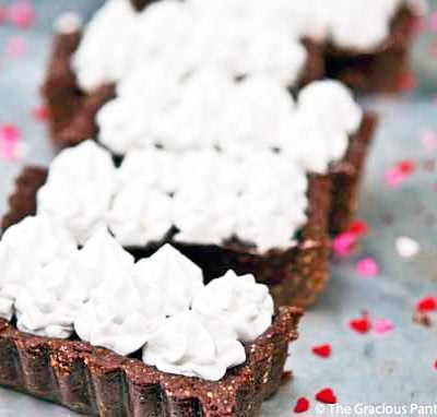 Clean Eating Margarita Chocolate Truffle Tart Recipe