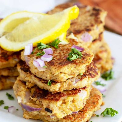 Healthy Tuna Patties Recipe