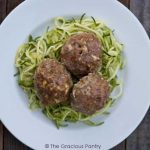 Clean Eating Low Carb Easy Bake Meatballs