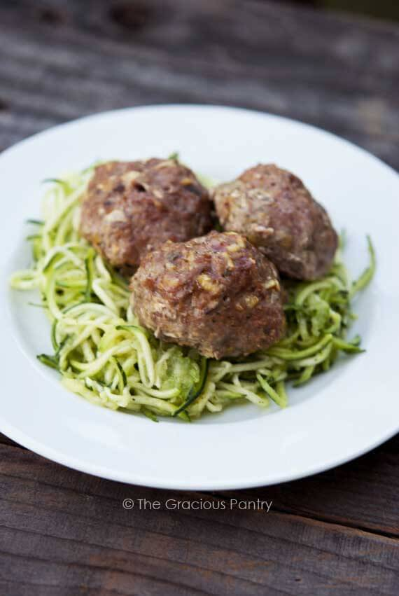 Clean Eating Low Carb Easy Bake Meatballs