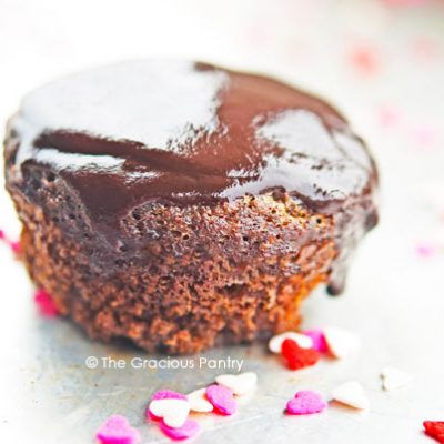 Clean Eating Chocolate Glazed Cupcakes Recipe