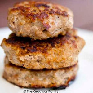 Turkey Breakfast Sausage Patties (homemade)