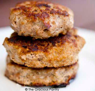 Clean Eating Turkey Breakfast Sausage Recipe