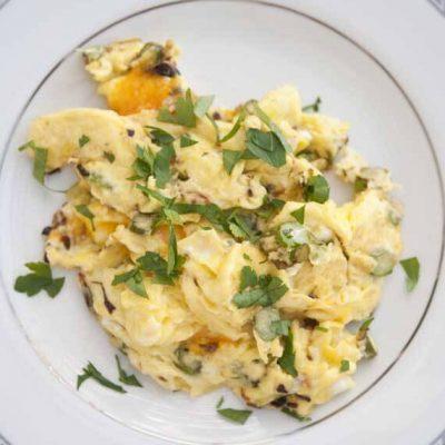 Asparagus Cheddar Omelet Recipe