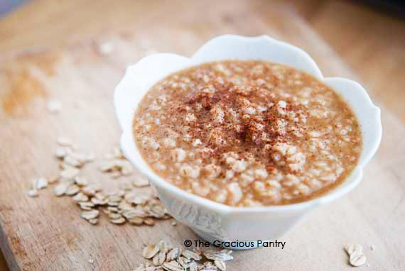 Buttery Cinnamon Oatmeal Recipe