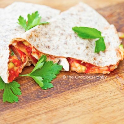 Clean Eating Pizzadillas Recipe