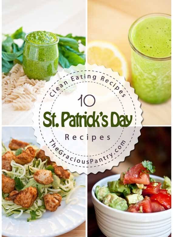 10 Clean Eating Green Meals For St. Patrick's Day