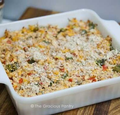 Clean Eating No-Noodle Tuna Casserole