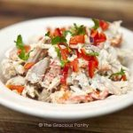 Clean Eating Low Carb Southwestern Chicken Salad