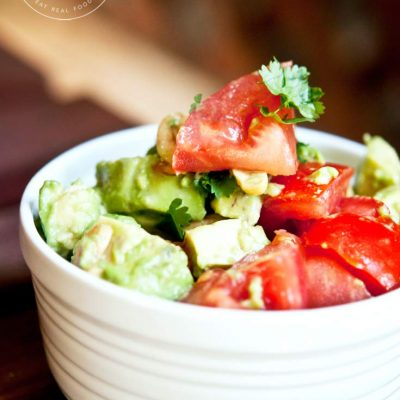 Avocado Cashew Salad Recipe