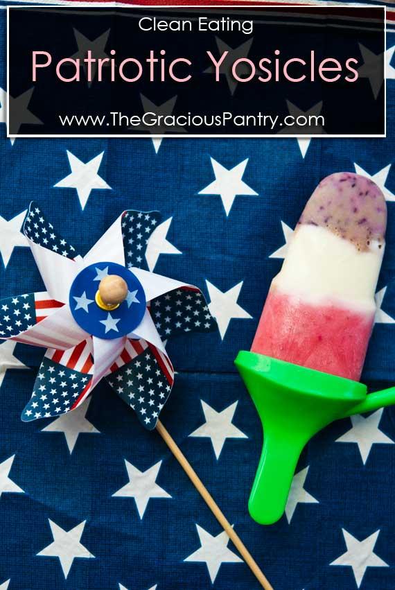 Clean Eating Patriotic Yosicles