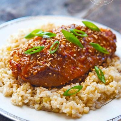 Honey Sesame Chicken (From Your Crock Pot!)