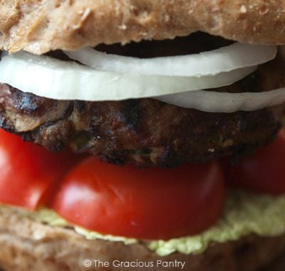 Clean Eating Shiitake Mushroom Burgers Recipe