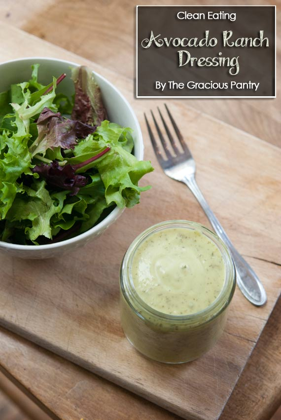 Clean Eating Avocado Lime Ranch